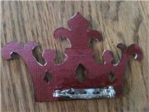 Back of Karen's crown