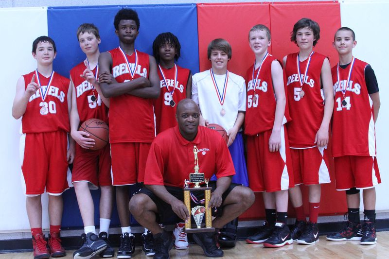 Tyler Rebels 4-1-12 first place
