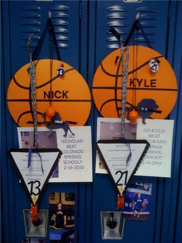 CSCS BOYS VARSITY LOCKERS.