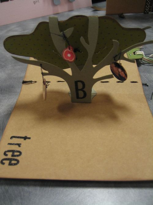 Family Tree pop up Tree card.